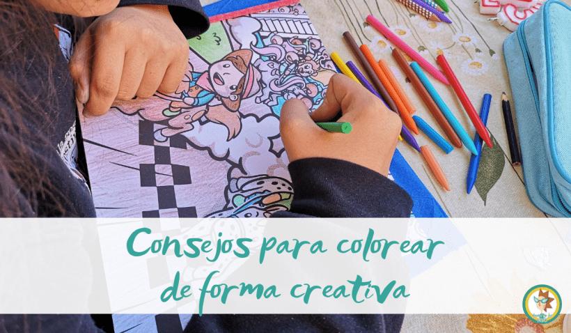 Colorear creativamente