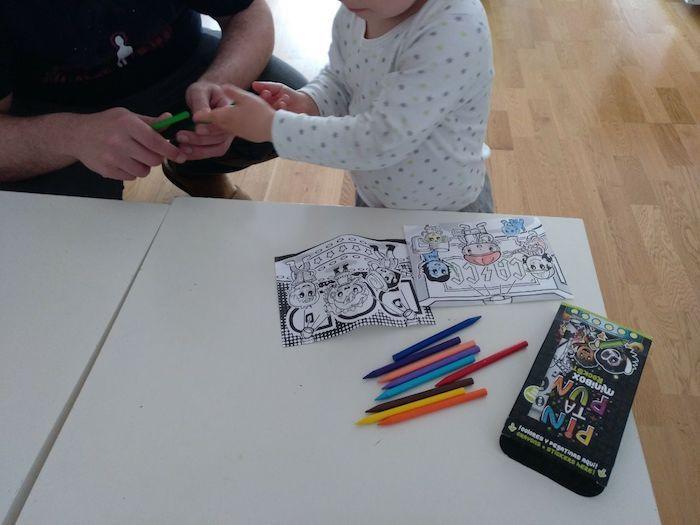 Decidiendo colores para pintar